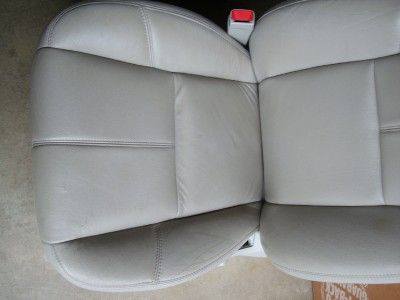YUKON AVALANCHE SILVERADO SIERRA LEATHER SEATS SEAT POWER